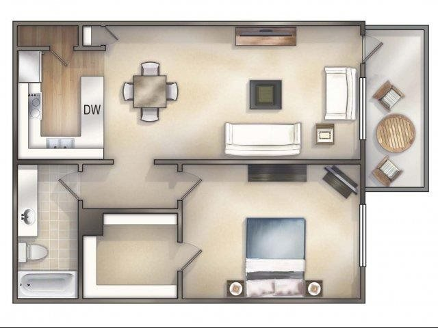 Cambridge Renovated Floor Plan 2