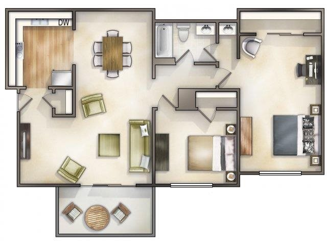 Canterbury Renovated Floor Plan 3