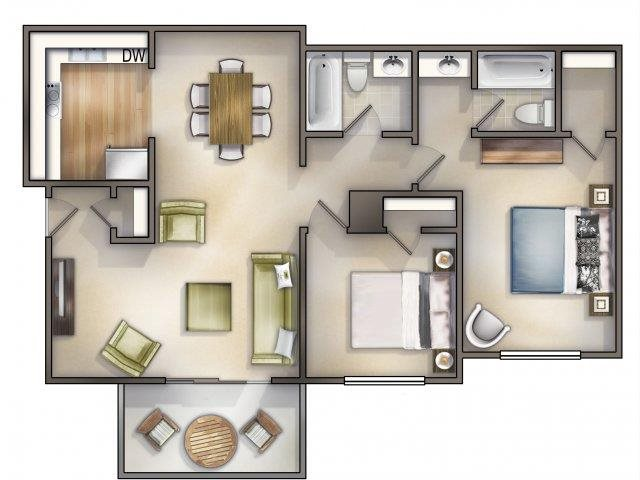 Devonshire Renovated Floor Plan 6