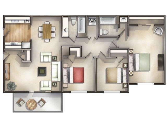 Nottingham Floor Plan 7
