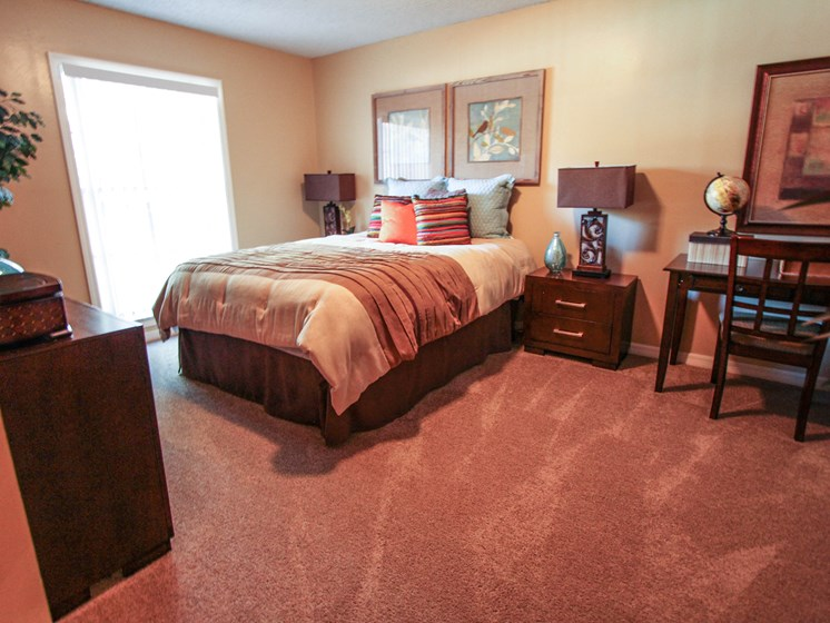 Bedroom with Carpet Foxcroft Tampa FL