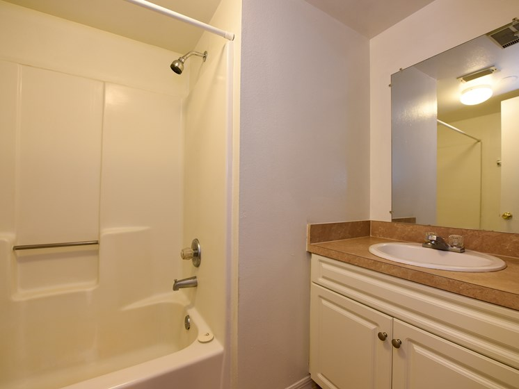 Bathroom at Green Oaks Apartments, Tampa, 33616