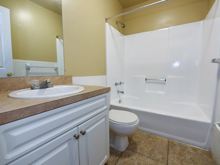 Bathroom Shower and Tub Combination Green Oaks Tampa Florida