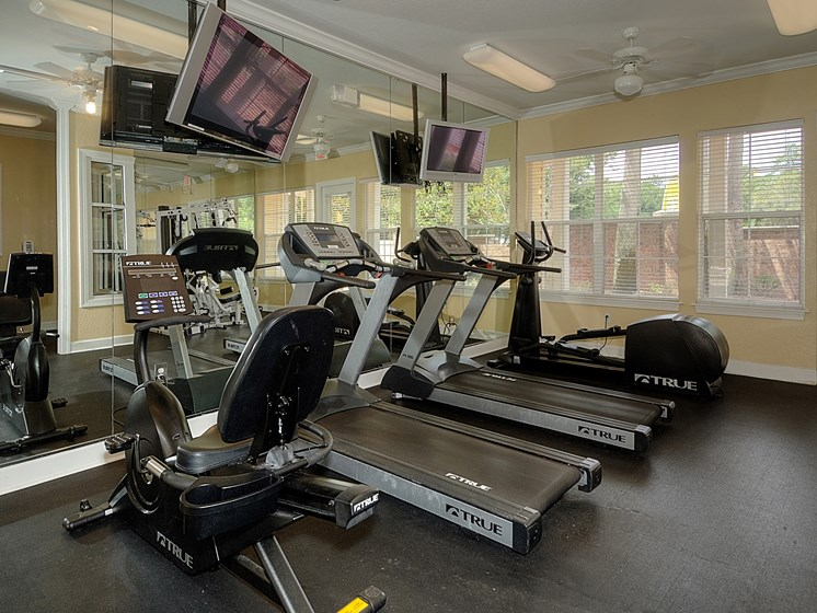 Interior Clubhouse Gym at Magnolia Place, Gainesville, FL