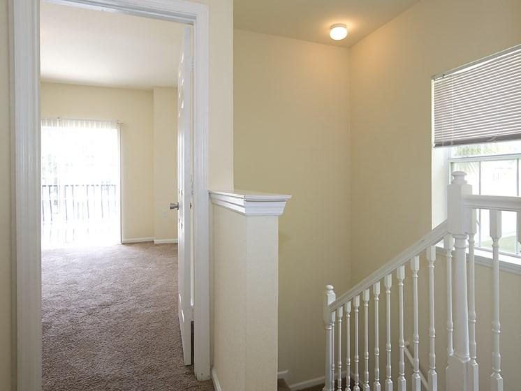 Interior Bedroom Stairs Carpet Flooring Gainesville Florida