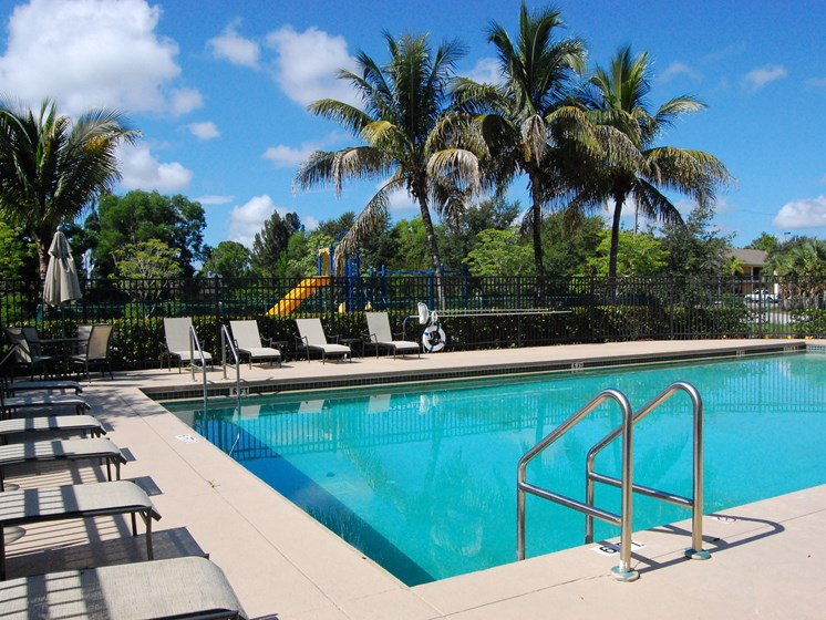 Exterior Pool Lounge Chairs Naples Florida
