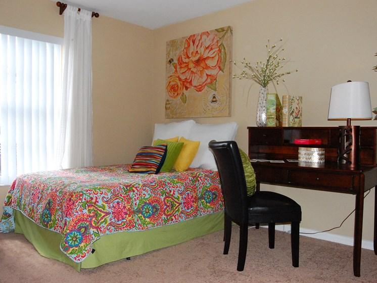 Model Unit Bedroom Carpet Flooring Naples Florida