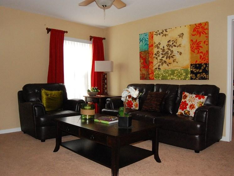 Model Unit Living Room Carpet Flooring Naples Florida