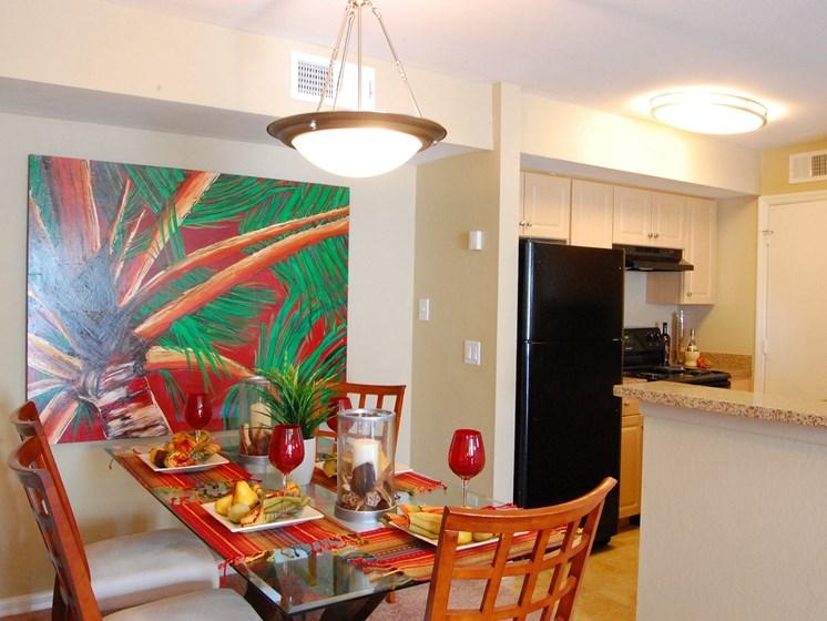 Model Unit Dining Room Carpet Flooring Naples Florida