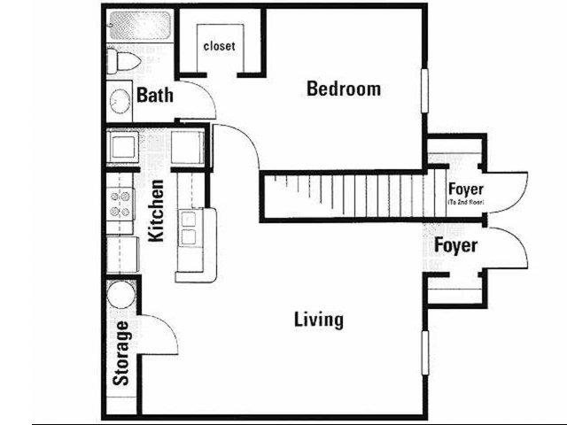 A1 Renovated Floor Plan 3