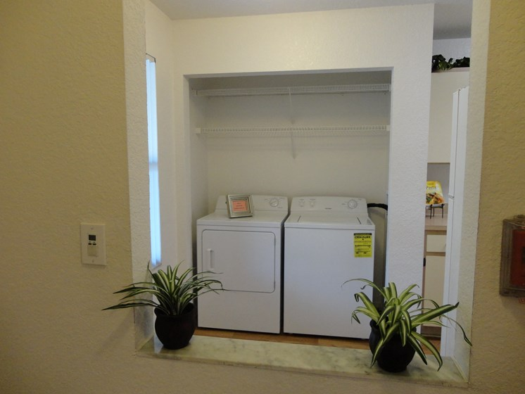 In-Unit Washer and Dryer Mira Lagos Bradenton, Florida