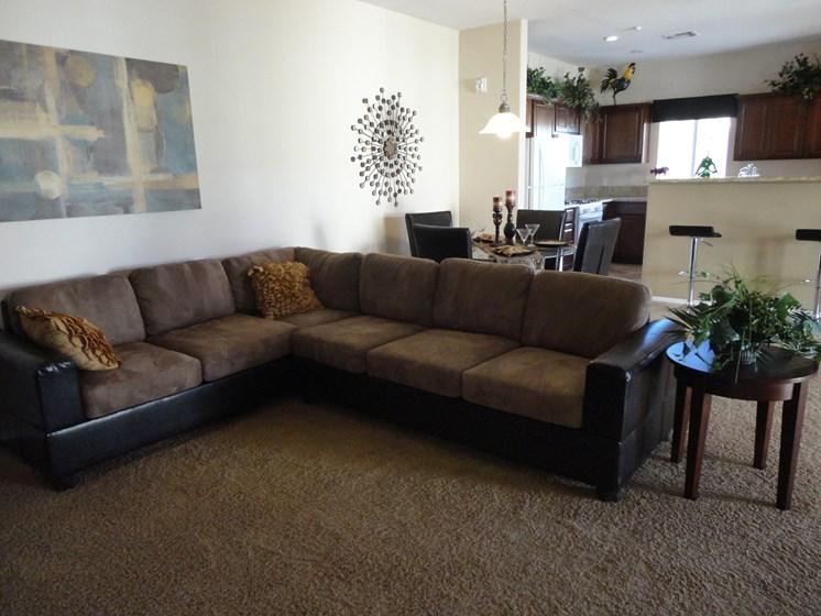 Interior Living Room Couch Palmilla North Las Vegas Nevada