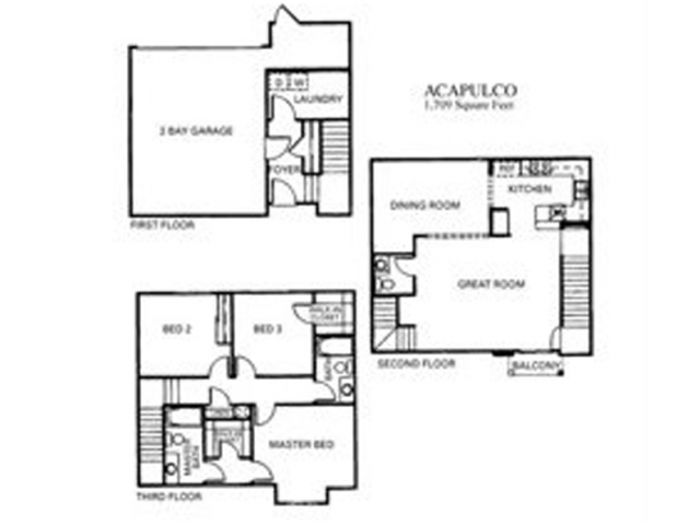 Acapulco Floor Plan 5