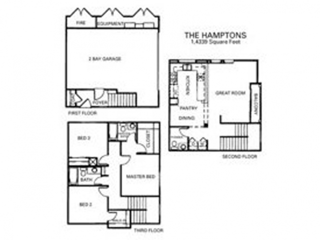 Hamptons Floor Plan 4