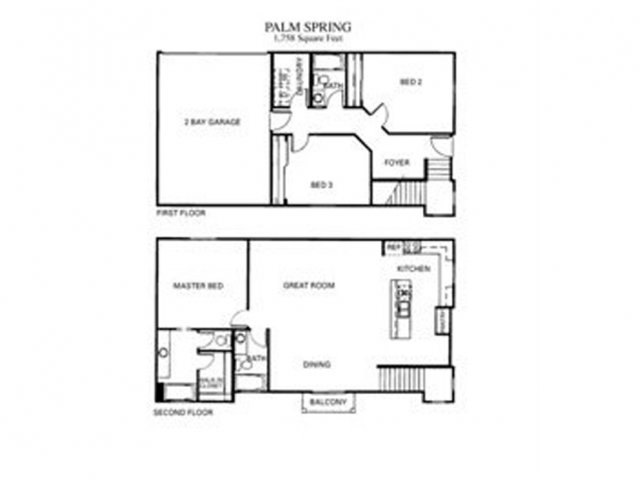 Palm Springs Floor Plan 6