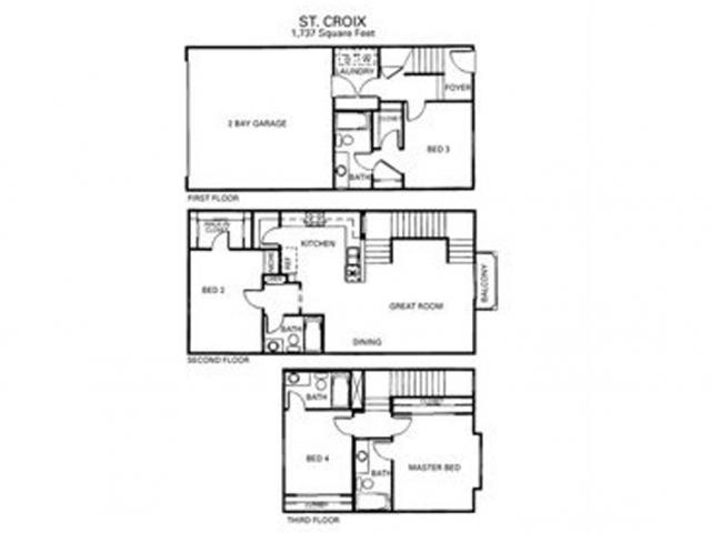 Saint Croix Floor Plan 8