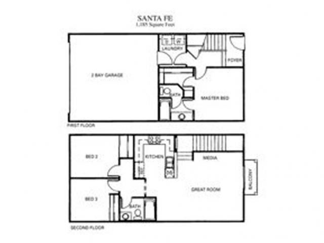 Santa Fe Floor Plan 3