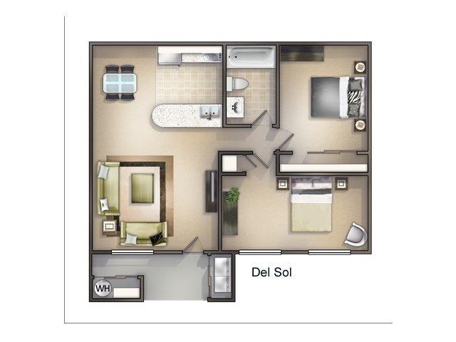 Del Sol Floor Plan 3