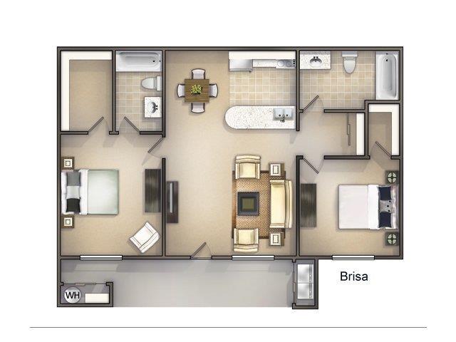 La Brisa Floor Plan 4