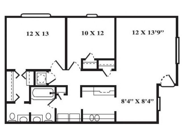 Port - Renovated Floor Plan 3