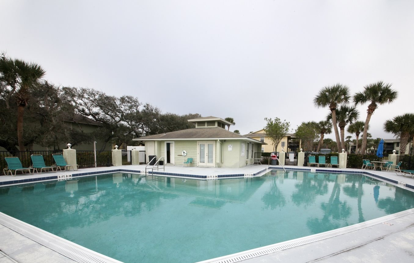 Cool Swimming Pool at Seaside Villas Apartments, Pacifica SD Mgt, St Augustine, FL
