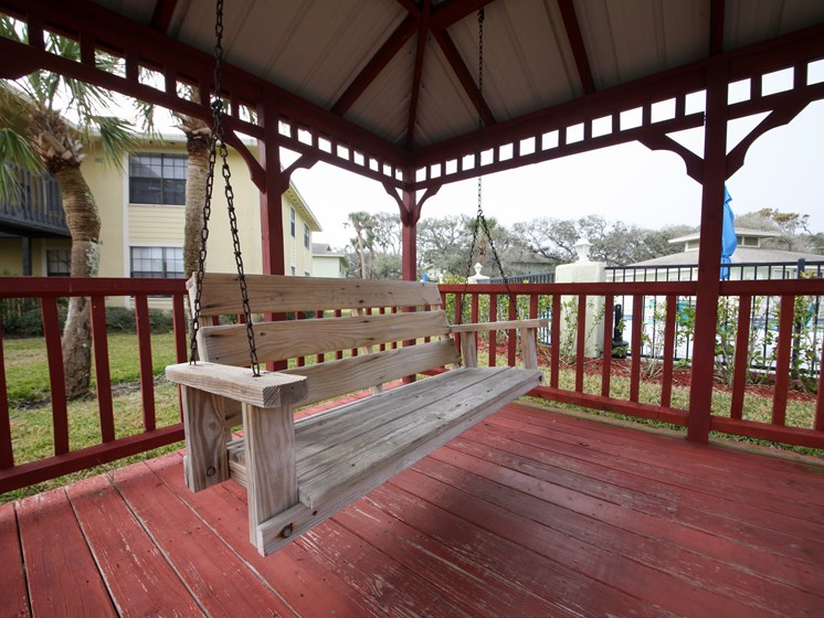 Gazebo Swing St. Augustine Florida