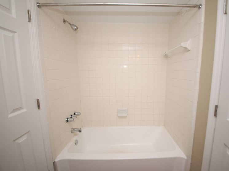 Bathroom with tub and shower St. Augustine Florida