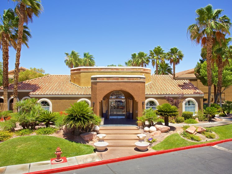 Exterior Clubhouse Leasing Office Las Vegas Henderson Nevada