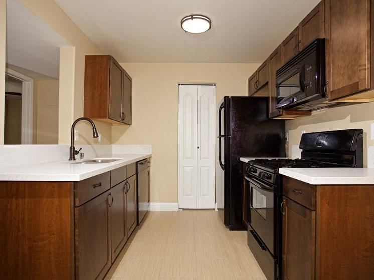 Interior Interior Unit Kitchen Black Appliance Las Vegas Henderson Nevada