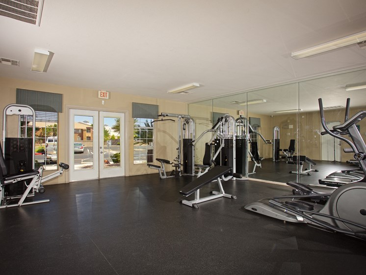 Interior Clubhouse Fitness Center Las Vegas Henderson Nevada