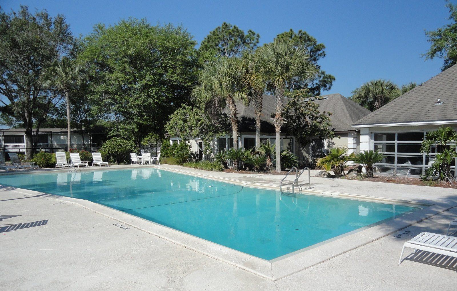 Pool view Jacksonville Florida