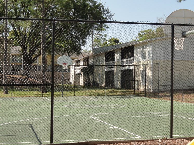 Basketball Courts Fenced in Jacksonville Florida