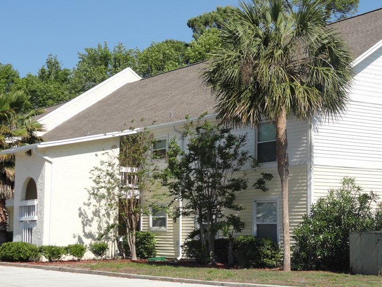 Exterior view of apartments Jacksonville Florida
