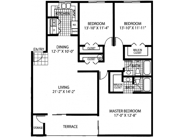 The Cabernet - Classic Floor Plan 4