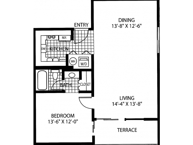 The Merlot Floor Plan 1