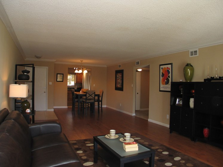 Living and Dining area Jacksonville Florida