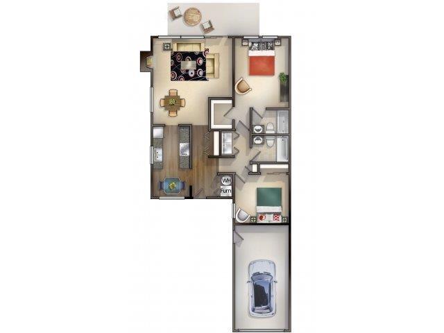 2_2 Floor Plan 2