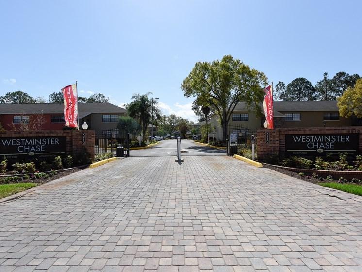 Entrance Westminster Tampa Florida