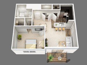 Ryland Park Floor Apartment Floor Plan