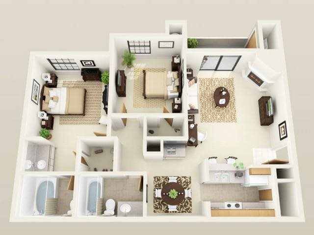 Newport - Upgraded Floor Plan 6