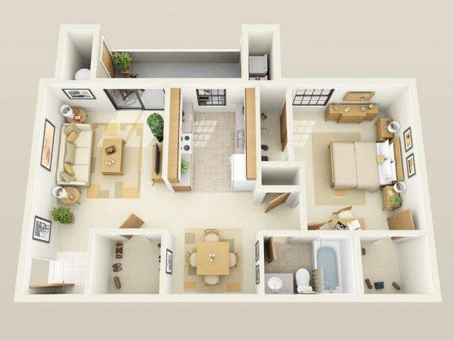Floor Plans Of Sky Court Harbors In Las Vegas Nv
