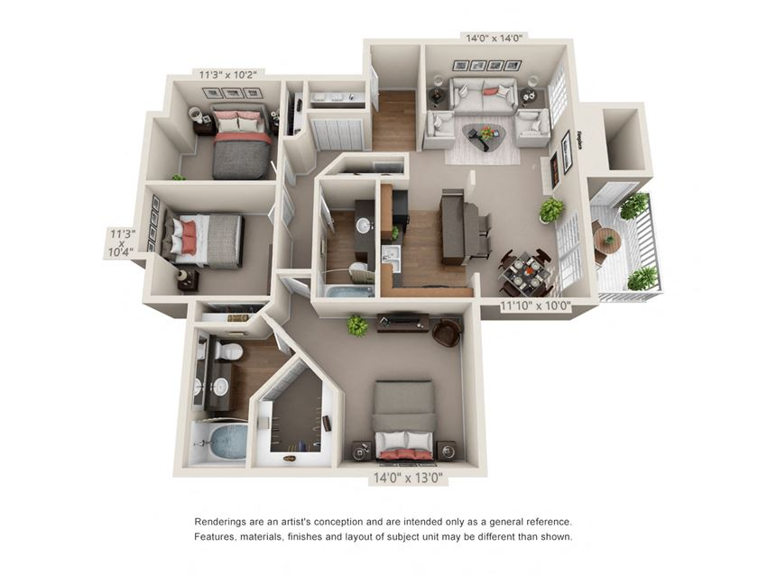3 Bedroom 2 Bathroom