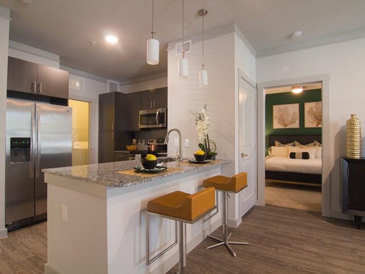 kitchen san antonio luxury apartments