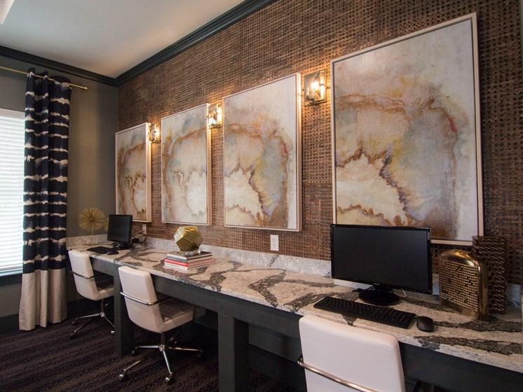 business center san antonio luxury apartments