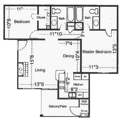 Cottonwood Floor Plan 3