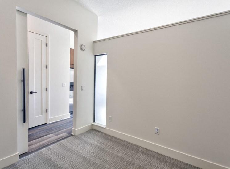 Beige Carpet in Bedroom at Central Park West, St Louis Park, MN, 55416