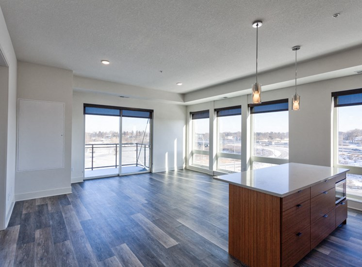 Floor to Ceiling Windows at Central Park West, Minnesota, 55416
