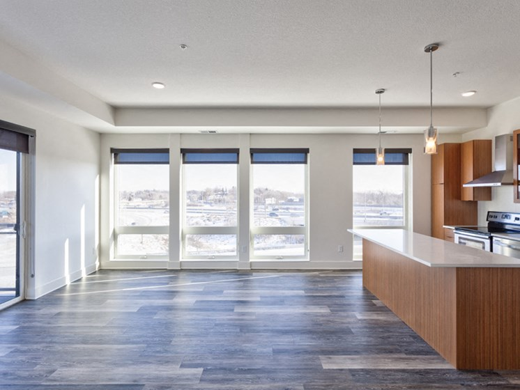 Sleek Interior Finishes at Central Park West, St Louis Park