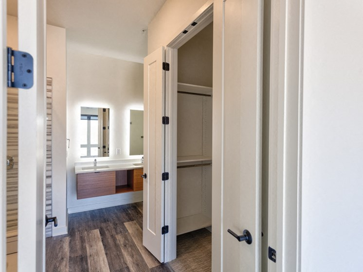 Custom Closets at Central Park West, St Louis Park, Minnesota