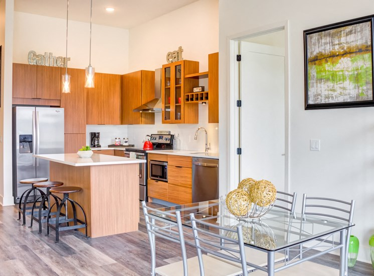 Stainless Steel Appliances at Central Park West